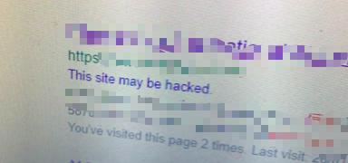 网址被入侵